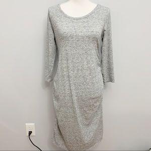 Liz Lange Maternity | Heather Gray T-Shirt Dress